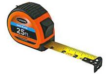Keson 25 WIDE BLADE Pocket Tape - Engineers Scale (#PG181025WIDEV)