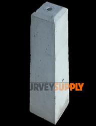 """Concrete Monuments 24"""" (3/4"""" hole for cap)"""