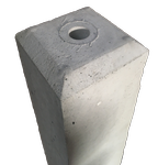 Concrete Monument Top 1 inch hole for cap