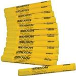 Dixon Lumber Crayons - Color: YELLOW #49600 (Box of 12)