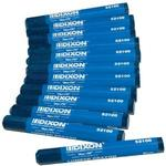 Dixon Lumber Crayons - Color: BLUE #52100 (Box of 12)