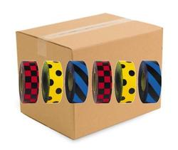 Patterned Roll Flagging (case of 144 rolls)