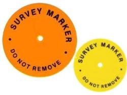 Hub Disc - Survey Washer (100 per pack)