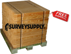"Grade Stakes - 3/4"" x 2"" x 18"" (pallet of 1690)"