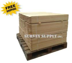 "Garden Stakes - 1"" x 1"" x 60"" (pallet of 1350)"