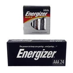 Energizer Alkaline AAA Batteries (144 per case)