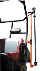 UTV Roll Cage Transporter for GNSS Rods