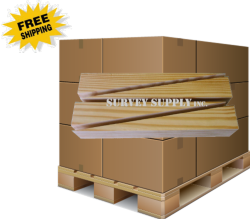 """Wedges - 12"""" long (pallet of 1500)"""