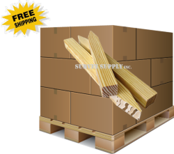 """Small Hubs - 1"""" x 1"""" x 12"""" (pallet of 1600)"""