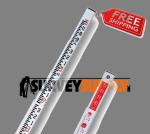 SitePro 25' Surveyor's Fiberglass Leveling Rod (SVR-type) - Inches (#11-SPR25-C)