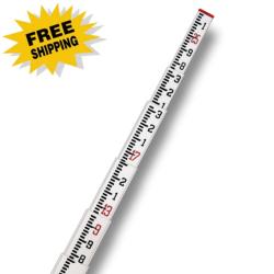SitePro 25 Construction Fiberglass Leveling Rod (CR-type) - 10ths (#11-SCR25-T)
