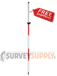 SitePro 8' One-Section TLV Prism Pole (#07-4708-TMA)