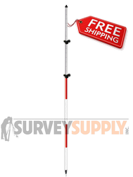 SitePro 12 Two-Section TLV Prism Pole (#07-4712-TMA)