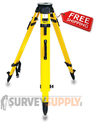 SitePro SiteMax Composite Tripod - Dual Clamp (#01-HVFG20-DCB)