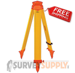 SitePro Wood Tripod - Wing Screw (#01-WDW20HV-O)