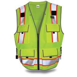 SitePro Surveyors Safety Vest - Class 2 - Flo.Yellow (#23-550)