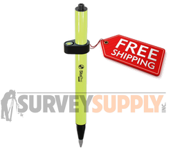 SitePro Mini Stakeout Pole w/ Vial - 1.28 ft (#07-4001-FY)