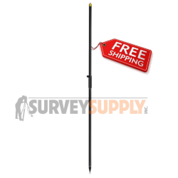 SitePro Two-Piece Carbon Fiber GNSS Rover Rod (#09-2002-M)