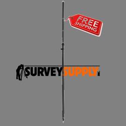 SitePro 3-Position Carbon Fiber Snap-Loc GPS Rover Rod (#09-2222)