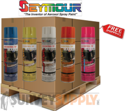 Seymour Inverted Marking Paint Pallet (30+ cases) - Color: MIX & MATCH