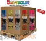 Seymour Inverted Marking Paint Pallet (60+ cases) - Color: MIX & MATCH