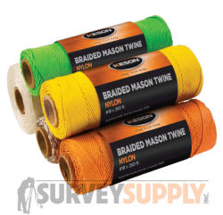 Keson Braided Mason Twine - 1000 ft. rolls (Case of 12)