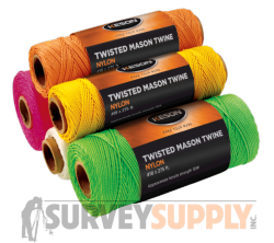 Keson Twisted Mason Twine - 275 ft. rolls (Case of 12)