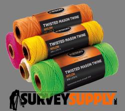 Keson Twisted Mason Twine - 545 ft. rolls (Case of 12)