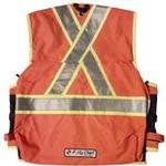 The Party Chief Heavy-Duty Survey Vest - Back