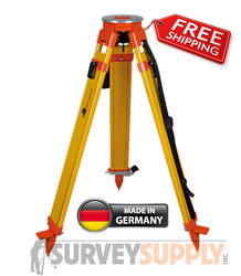 NEDO Surveyors Grade Wood Tripod w/ Click-it System - Quick Clamp (#200514-185)