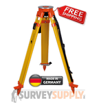 NEDO Surveyors' Grade Wood Tripod w/ 'Click-it' System - Quick Clamp (#200514-185)
