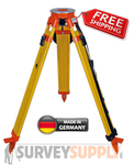 NEDO Surveyors' Grade Wood Tripod - Quick Clamp (#200513-185)