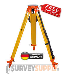 NEDO Surveyors Grade Wood Tripod - Screw Clamp (#200533-185)