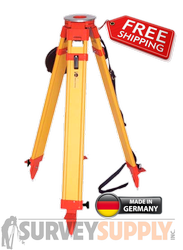 NEDO Surveyors Grade Wood Tripod - Dual Clamp (#200534-185)