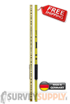 NEDO Self-Illuminating Leveling Rod LumiScale w/ Trimble Bar Code (#340220-185)