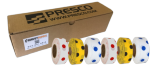 Polka Dot Roll Flagging (box of 12 rolls)