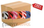 Stripe Roll Flagging (case of 144 rolls)