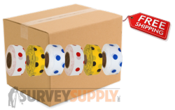 Polka Dot Roll Flagging (case of 144 rolls)