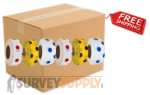 Polka Dot Roll Flagging (case of 144 rolls)