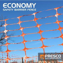Presco Economy Safety Fence 4ft x 100ft. - (Carton of 4 rolls) (#SBF4100OE)