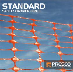 Presco Standard Safety Fence 4ft x 100ft. (Carton of 4 rolls) (#SBF4100OS)