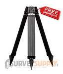 Dutch Hill Heavy-Duty Carbon Fiber/Fiberglass Tripod - Aluminum Head (#GT2000CFA)