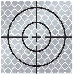 SitePro 60mm Reflective Target - Stick On (pack of 10) (#03-RT60MM)