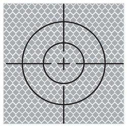 SitePro 90mm Reflective Target - Stick On (pack of 10) (#03-RT90MM)