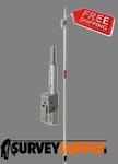 Seco Swiss-Style QLV Prism Pole - 8 ft - Dual Grad (#5802-10)