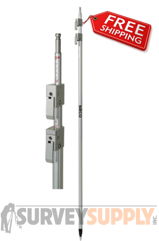 SECO LEICA STYLE 12/' PRISM POLE 5802-20 SURVEYING FOR TOTAL STATION
