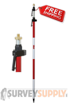 Seco Two-Section Quick-Release Prism Pole - 11.81 ft - Adjustable Tip - Dual Grad (#5700-20)