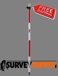Seco One-Section Twist Lock Prism Pole - 8.53 ft - Adjustable Tip - Dual Grad (#5500-11)