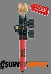 Seco Twist Lock Mini Prism Pole - 5.1 ft - Adjustable Tip - Dual Grad (#5500-23)