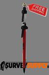 Seco Quick-Release Mini Prism Pole - 4.8 ft - Adjustable Tip - Dual Grad (#5700-21)